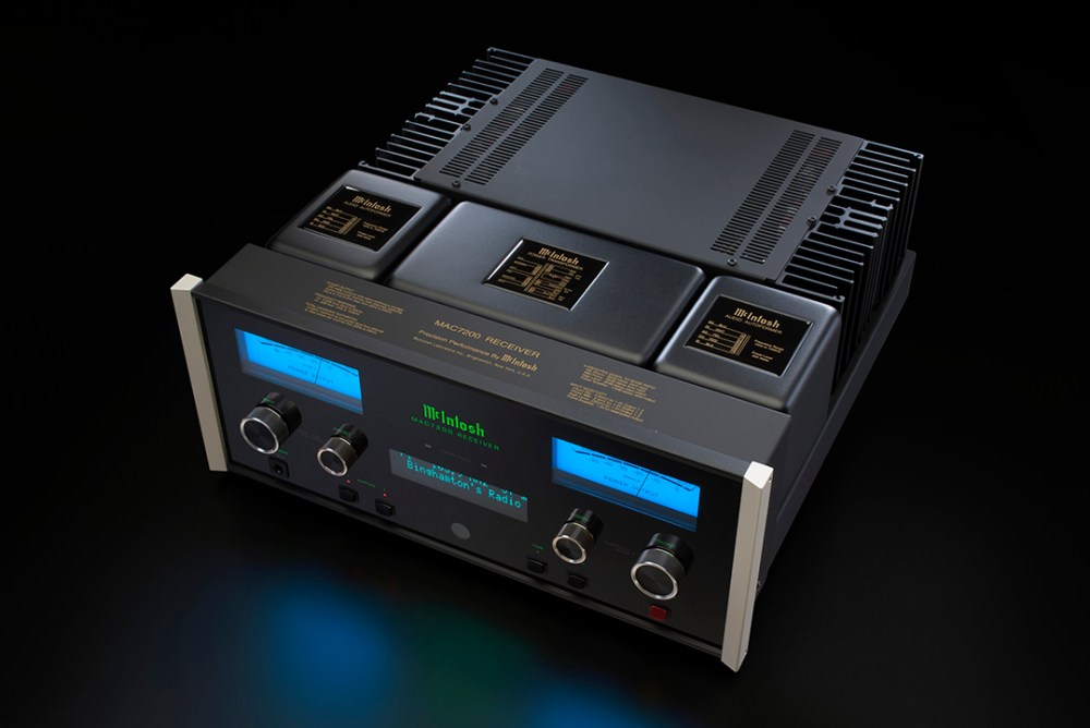 McIntosh Labs announce new MAC7200 Receiver, MA7200