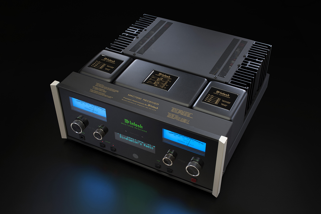 McIntosh Labs announce new MAC7200 Receiver, MA7200 Integrated Amplifier