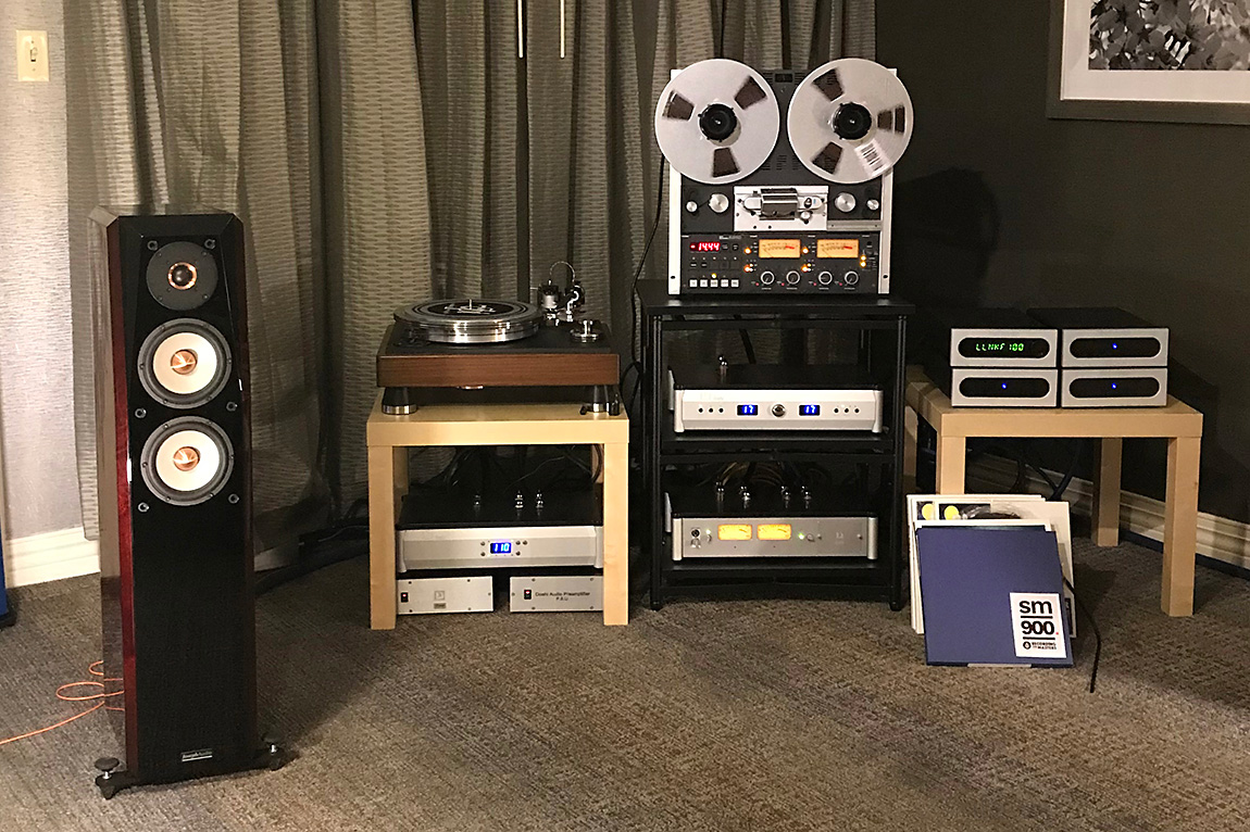 Capital Audiofest 2017: Joseph Audio with Bel Canto and Doshi