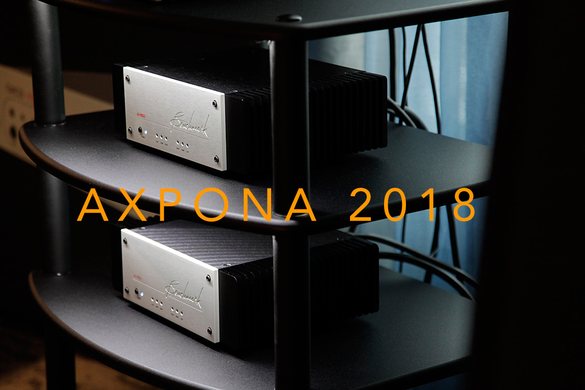 AXPONA 2018: Benchmark stays smooth with Martin Logan