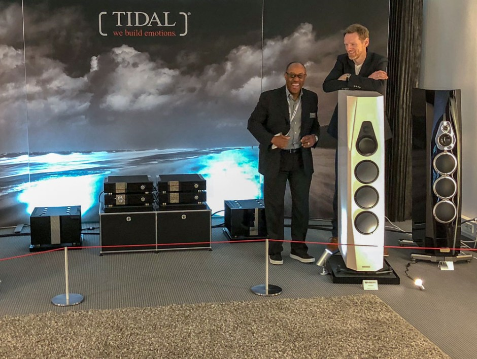 Munich High End 2018: VIMBERG & TIDAL