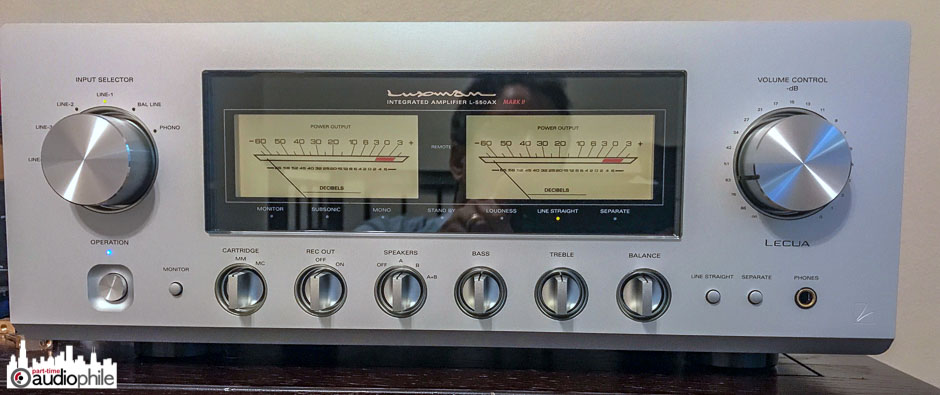 Luxman L-550AXII face