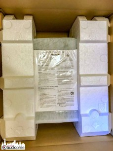 Luxman L-550AXII packaged