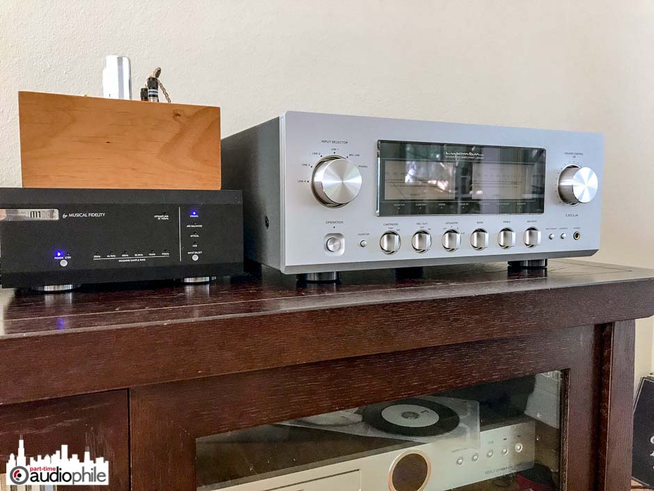 Luxman L-550AXII Integrated Amplifier Review | Part-Time Audiophile