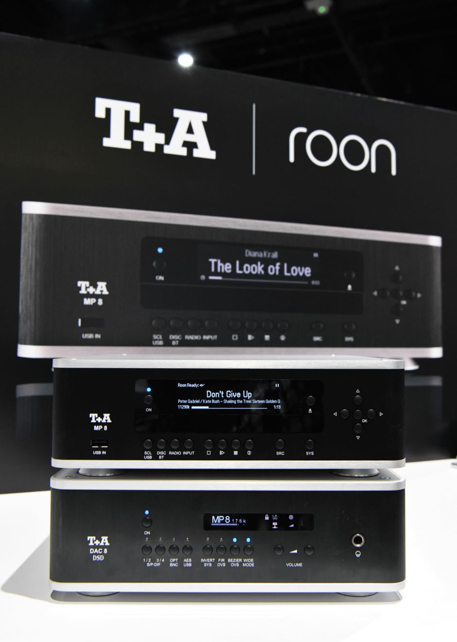 CEDIA 2018: T+A  Series 8 brings Roon and MQA