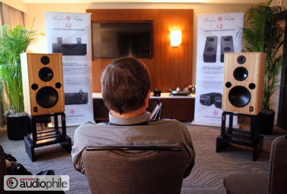 RMAF 2018: Vinnie Rossi, Triode Wire Labs, Harbeth; More than the sum of its parts