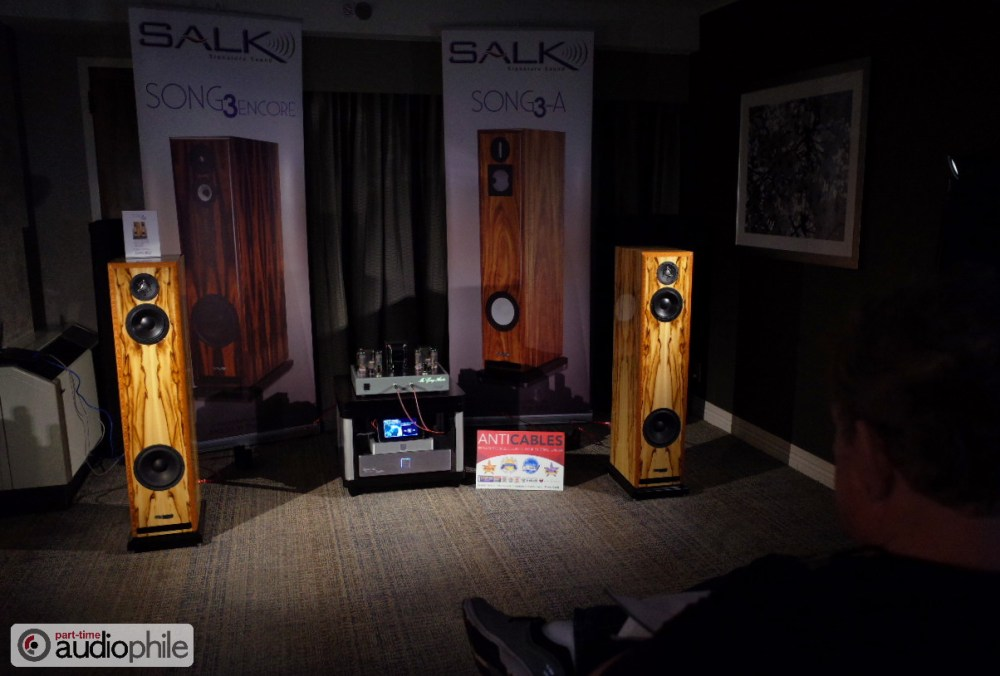 CAF 2018: McGary Audio, Salk Signature Sound, Exogal, AntiCables; mouthwatering sound