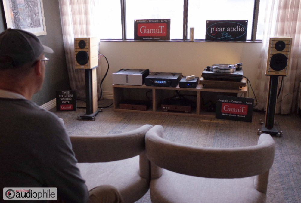 CAF 2018: GamuT, Pear Audio; The vibe of Audio Skies and Dr. Vinyl