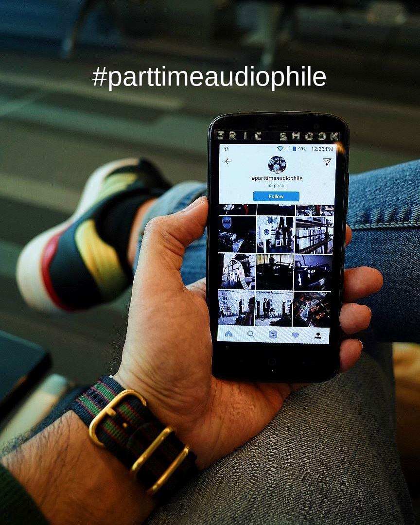 Follow our hashtag on social media, and use our hashtag on your audio show photos.