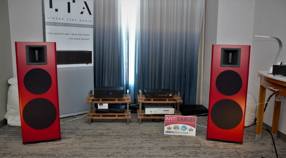 Spatial Audio, Linear Tube Audio, ANTICABLES | AXPONA 2019
