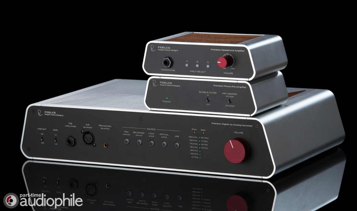 Rupert Neve Designs Introduces Fidelice™ Line of High-Fidelity Products