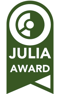 Editors Choice Julia Award