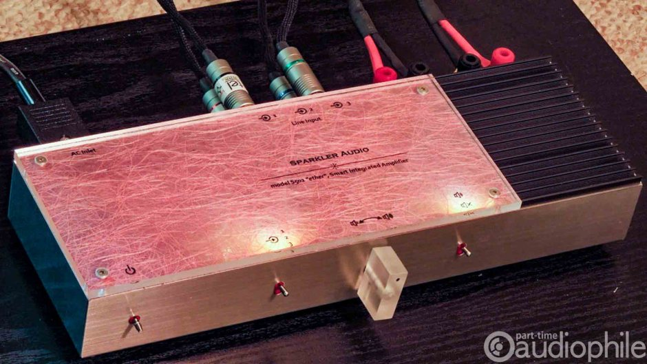 Sparkler Audio Ether integrated amplifier