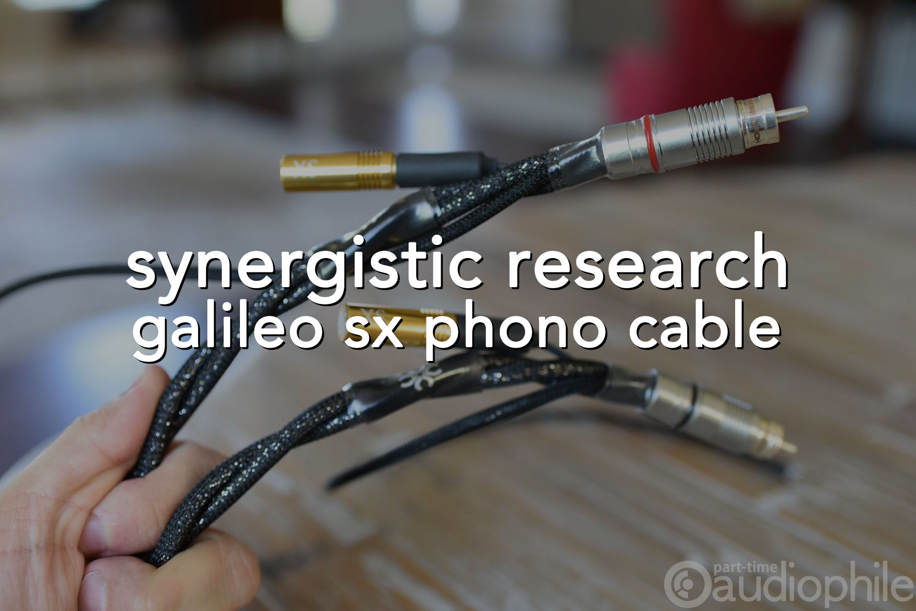 Synergistic Research Galileo SX Phono | Review