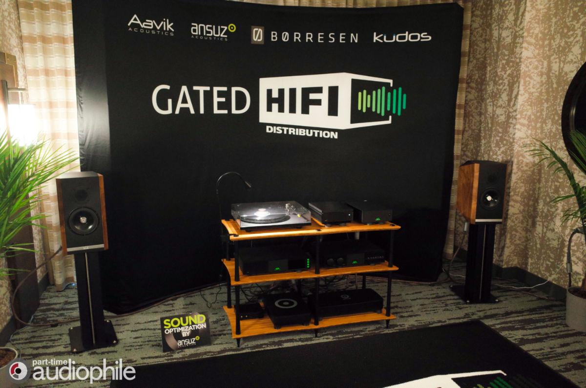 Ansuz Acoustics, Børresen Acoustics, Kudos Audio, Aavik Acoustics, Naim Audio, Gated Hi-Fi | RMAF 2019
