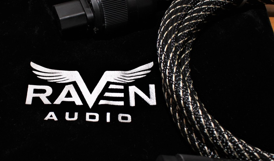 Raven Audio logo and cable