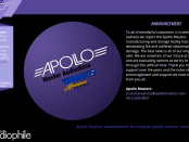 Apollo Masters Website