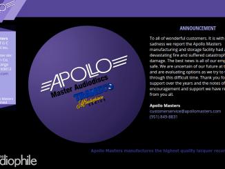 Apollo Masters Website