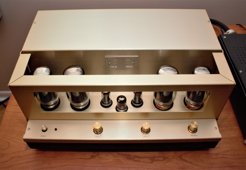 Mactone MH-120 Amplifier ¾ view