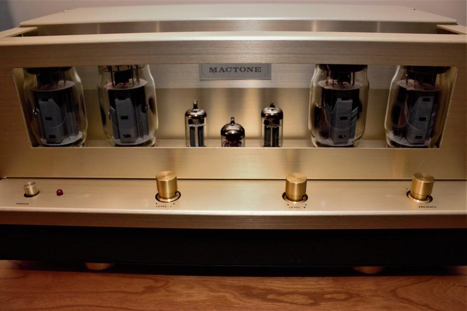 Mactone MH-120 Amplifier tubes
