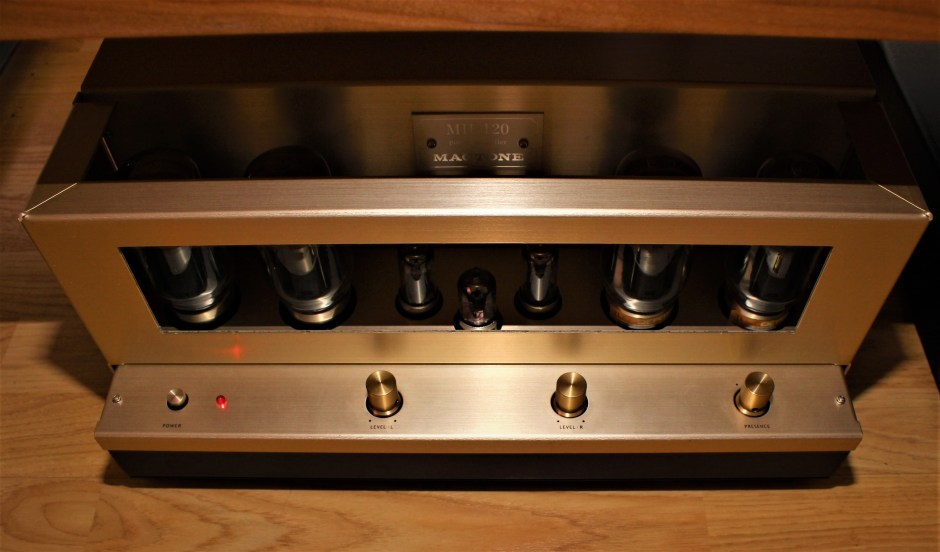 Mactone MH-120 Amplifier front panel