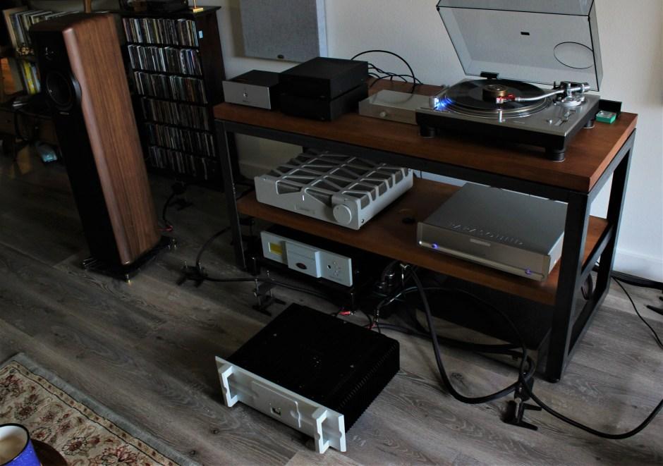 Bryston 4B³ amplifier system