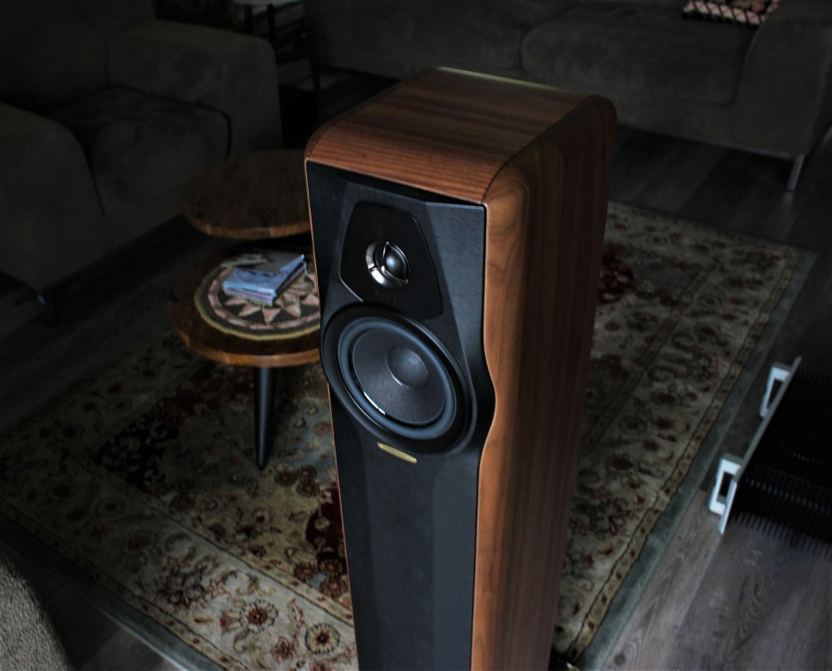 Two-way floorstanding model from Sonus faber of Italy.