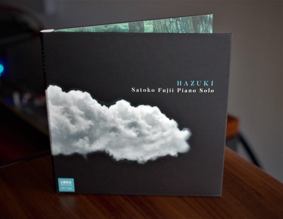 Hazuki is Satoko Fujii's new solo piano recording.