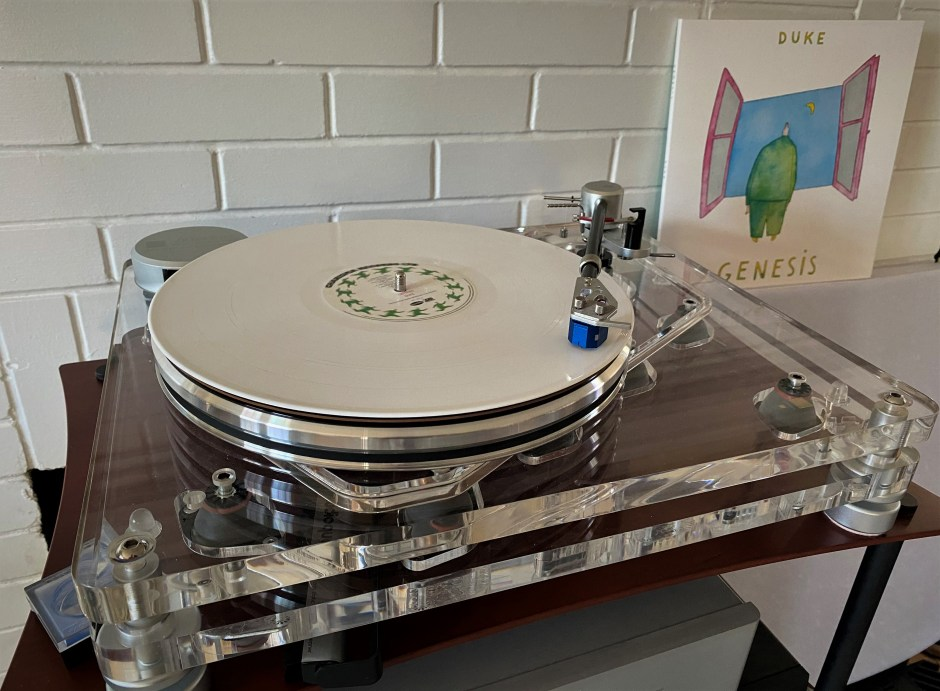 Vertere MG-1 turntable with Mystic cartridge.