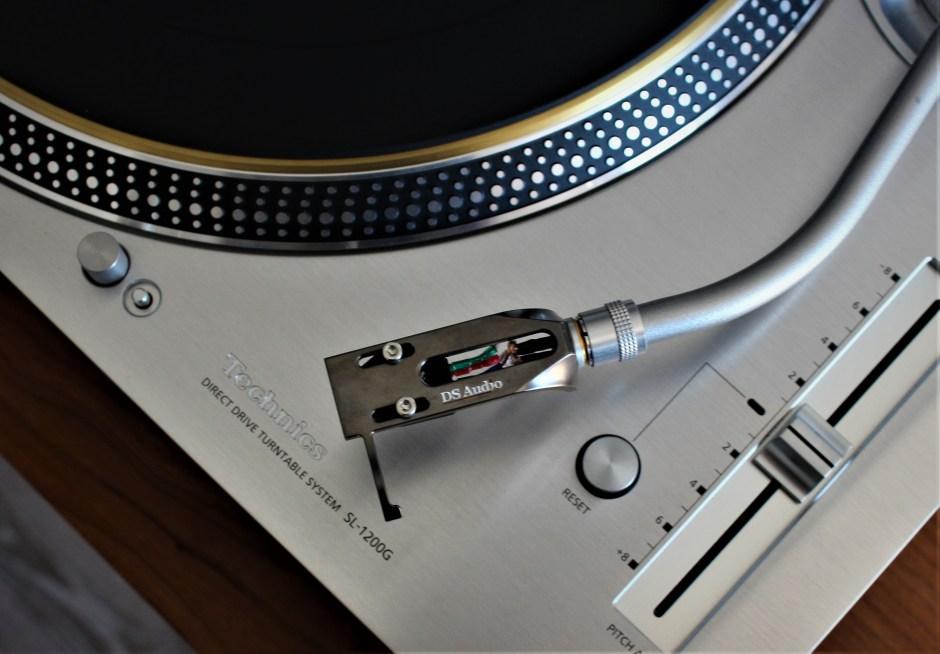 ds audio headshell used on the technics sl-1200g
