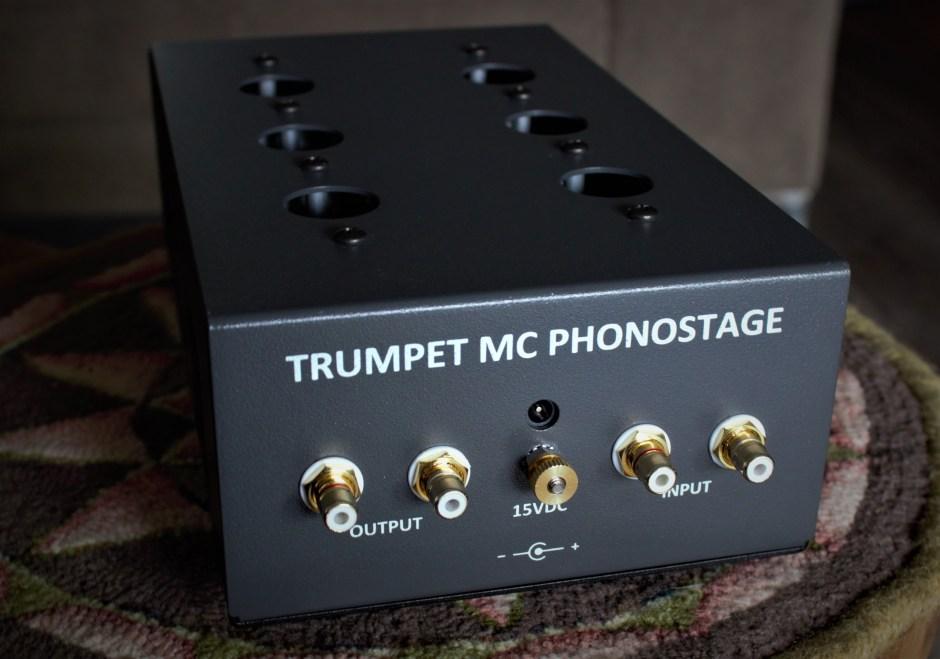 back panel of trumpet mc