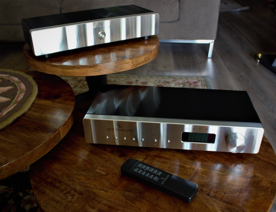 jeff rowland design group capri s2-sc and model 125