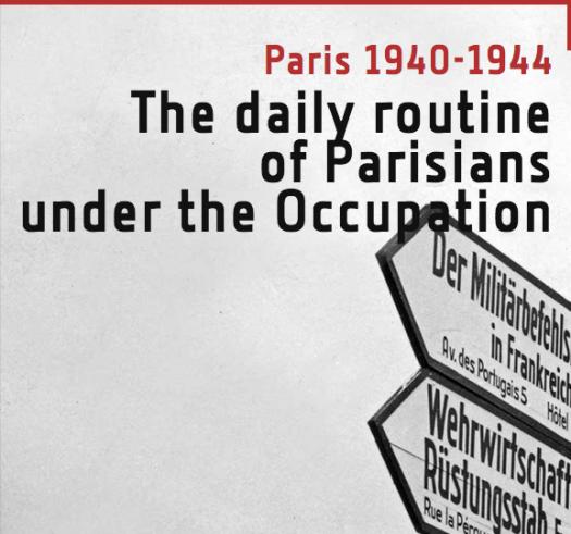 Paris daily life under occupation  Paris fr screen clip
