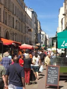View down Rue Daguerre