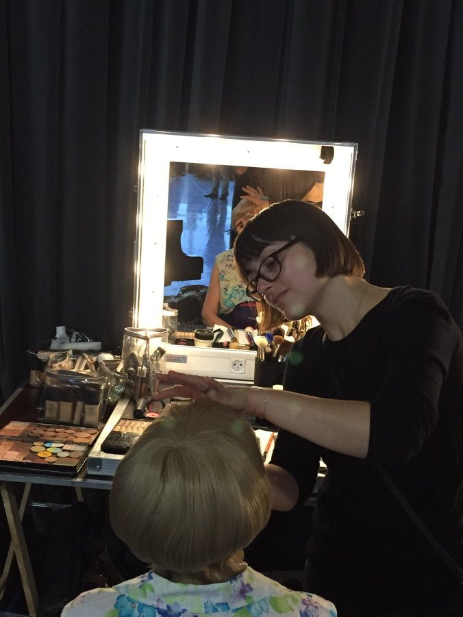 Early-morning makeup call