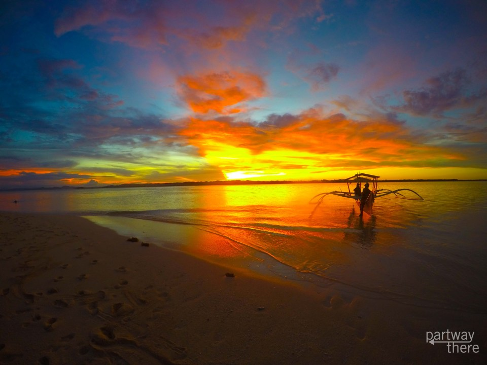 Sunset in Siargao, Philippines