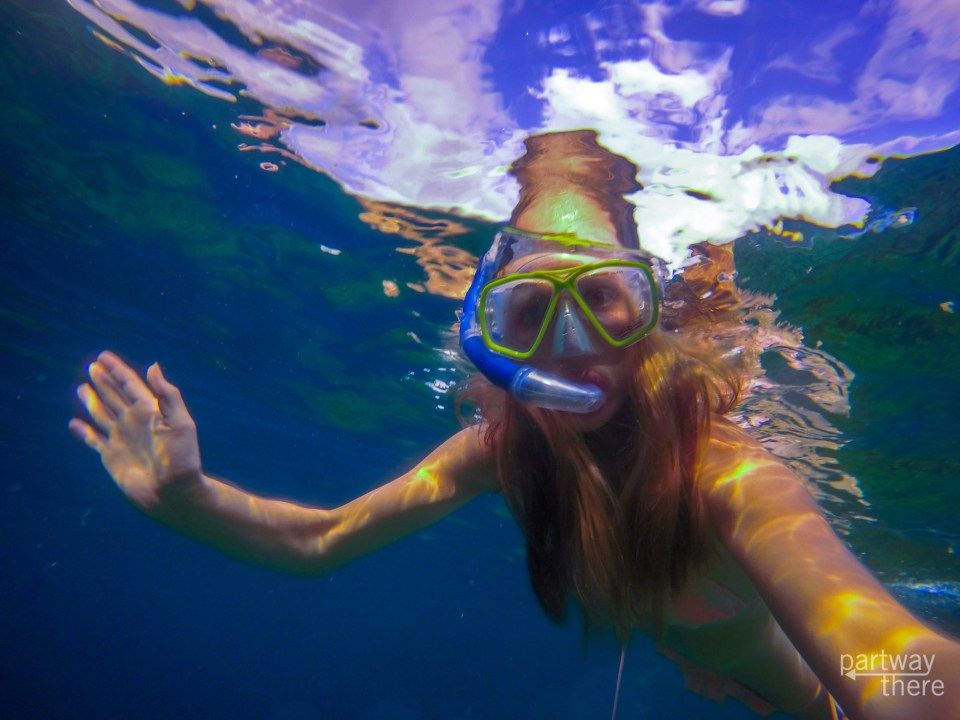 Underwater in the Philippines - taken with a GoPro