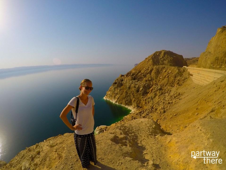 Amanda Plewes at the Dead Sea