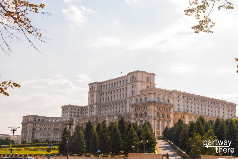 The government house in Bucharest