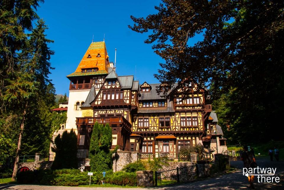 Pelesior Castle in Romania