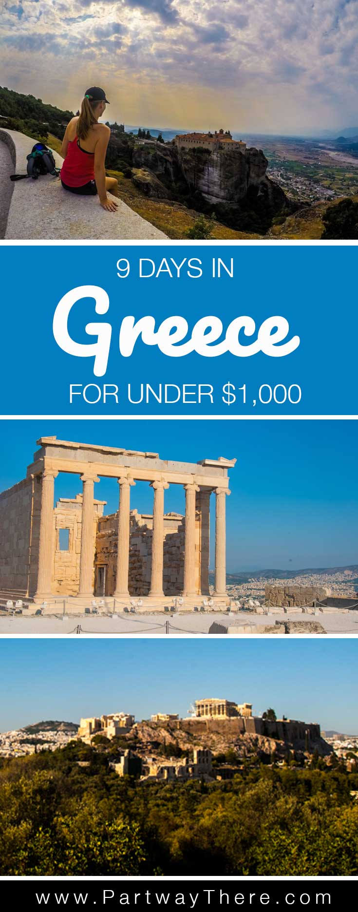 How I spent 9 days in Greece for under $1,000