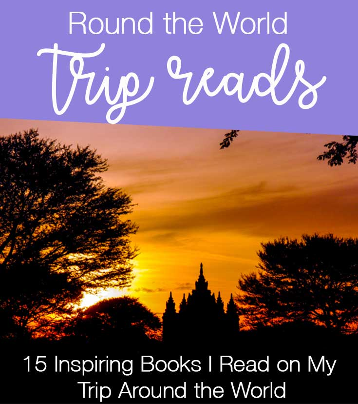 15 books from a round the world trip inspired by the locations visited and other travelers