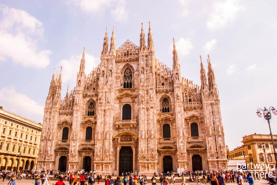 Milan cathedral and duomo