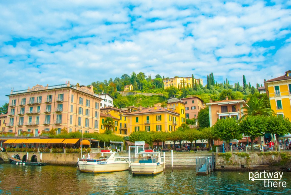 Bellagio on the shores of Lake Como
