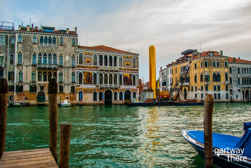 Venice, Italy, looking across a canal