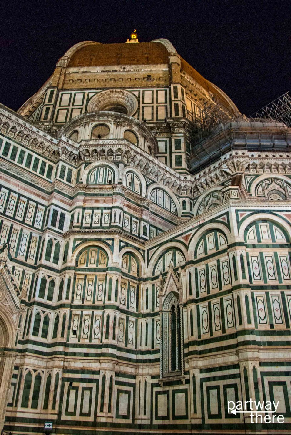The Florence Duomo at night