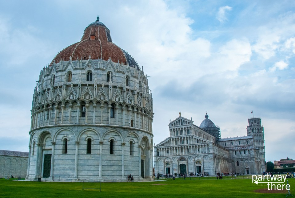 The field of miracles in Pisa, Italy