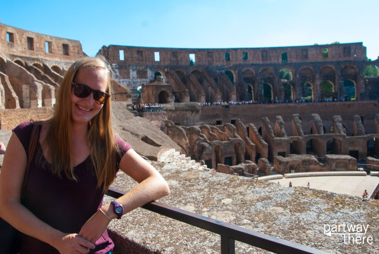 Amanda Plewes at Colosseum