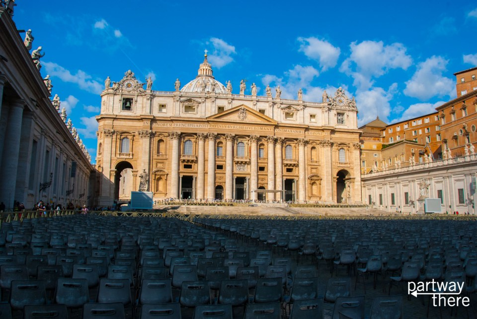 St Peter's Basilica in Vatican City