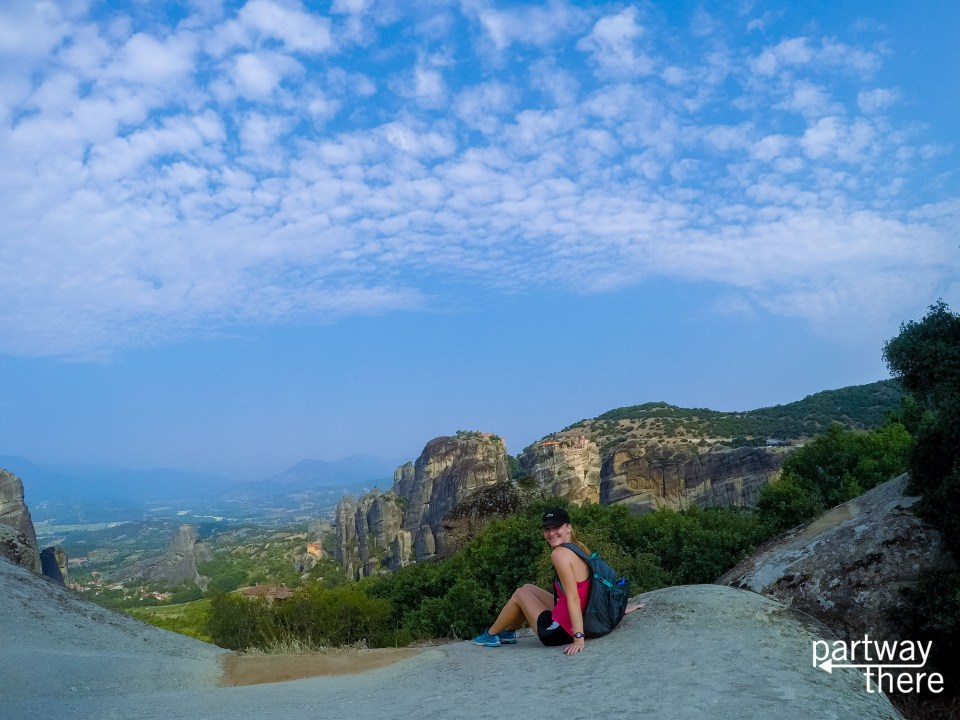 Selfie in Meteora, Greece - taken with a GoPro